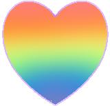 Rainbow Heart Avatar