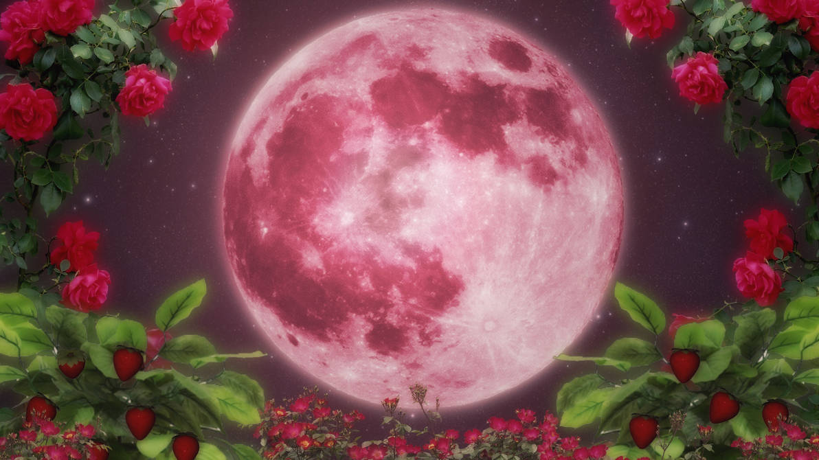 Strawberry Moon Wallpaper