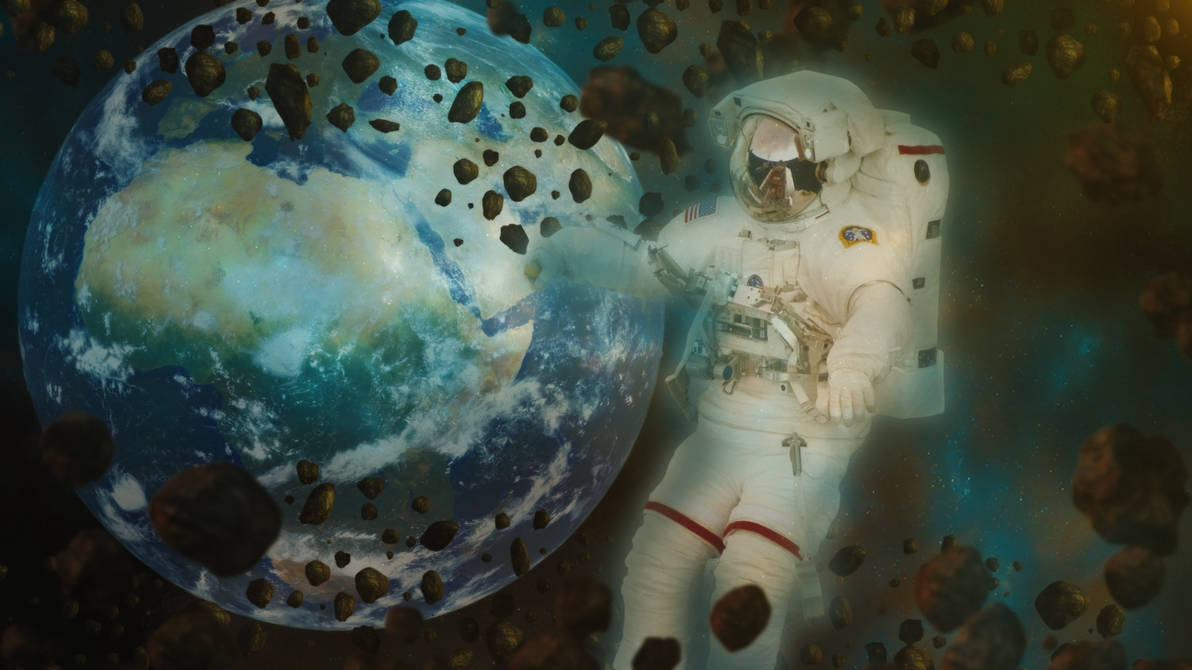 Space Oddity Wallpaper