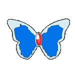 Cure Aqua Butterfly Bow Avatar