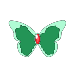 Cure Mint Butterfly Bow Avatar