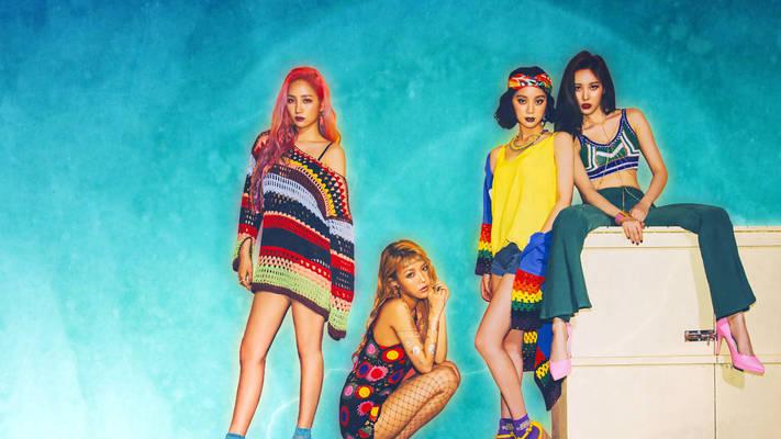 Wondergirls Wallpaper