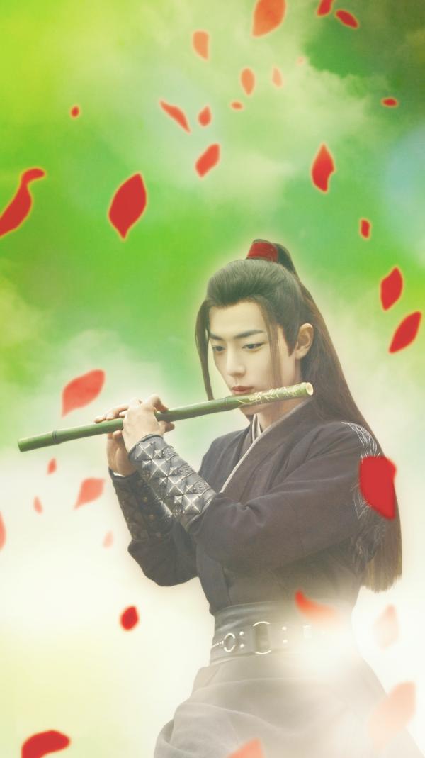 Wei Wuxian iphone wallpaper