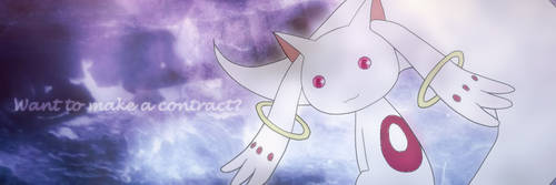 Kyubey Twitter Header