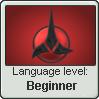 Klingonese Language Stamp Level: Beginner
