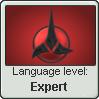 Klingonese Language Stamp Level: Expert