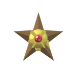 Staryu (Paint 3D)