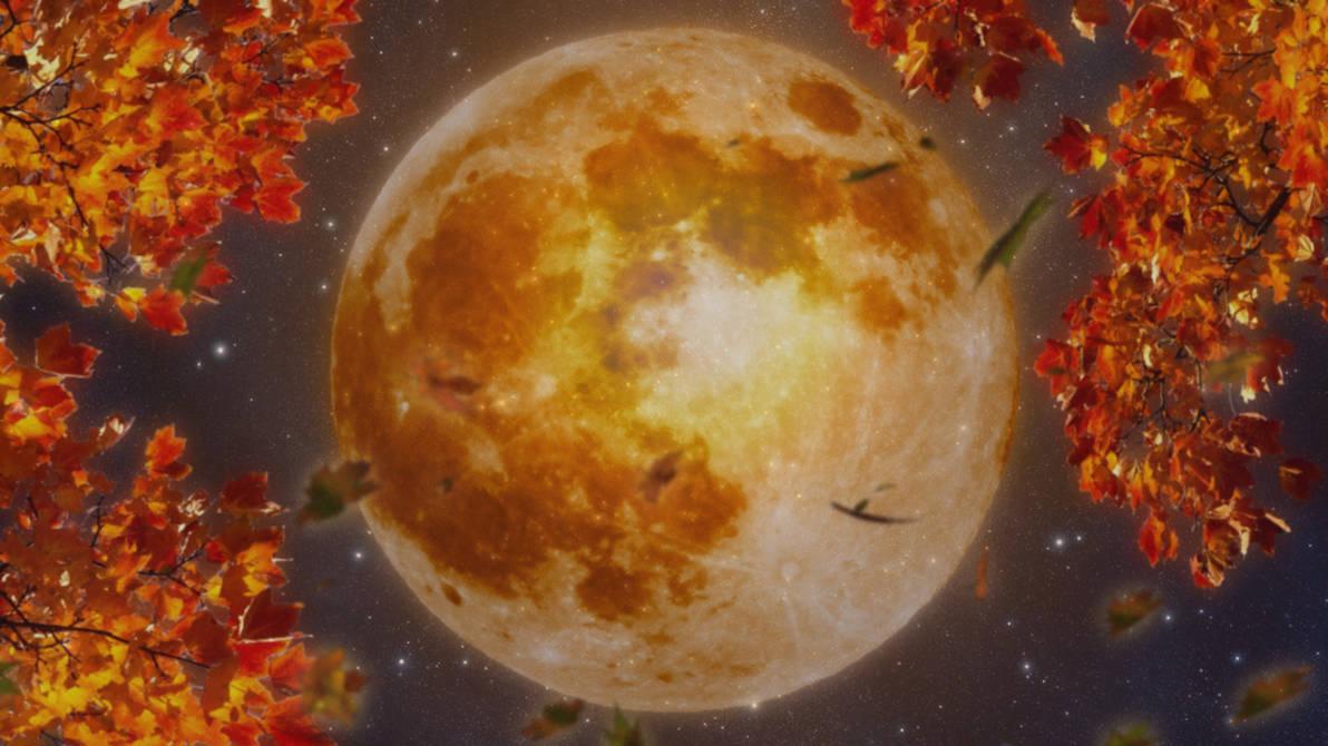 Harvest Moon Wallpaper