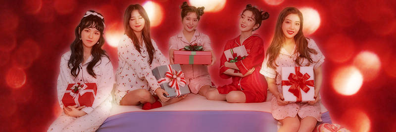 Red Velvet Christmas Twitter Header