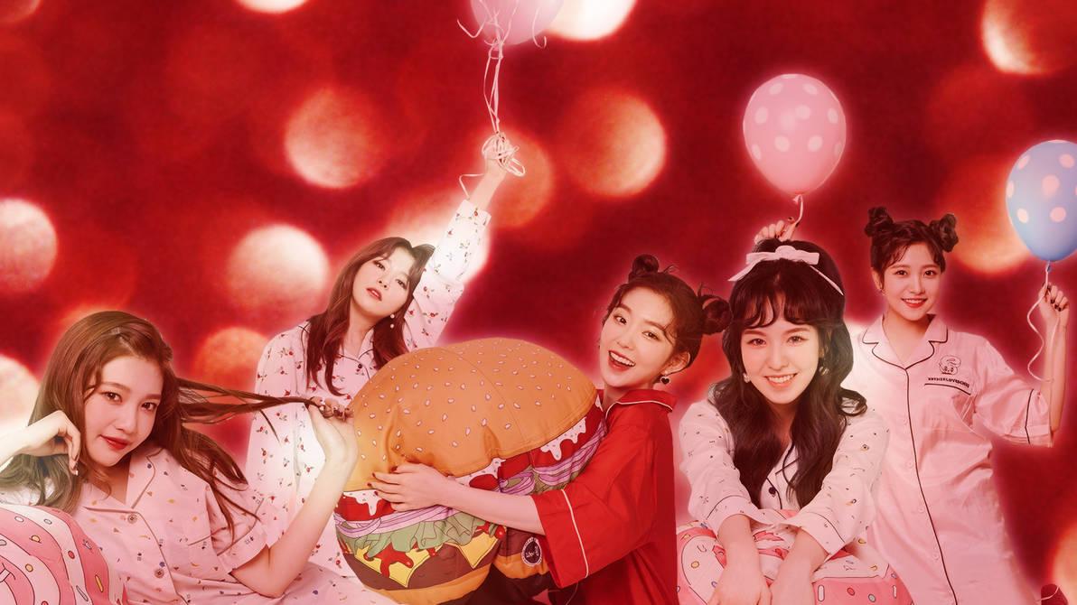 Red Velvet Christmas Wallpaper
