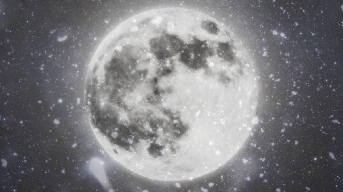 Winter Moon Wallpaper