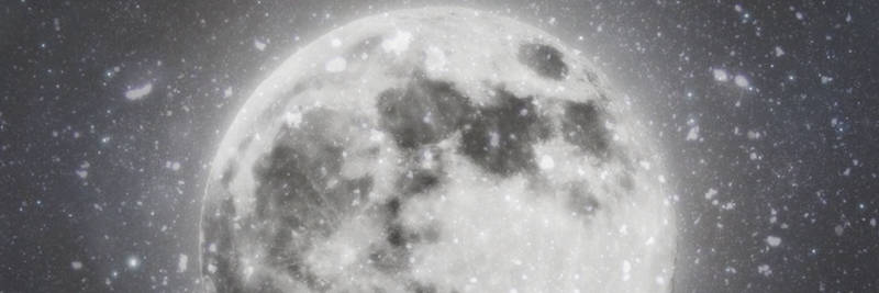 Winter Moon Twitter Header