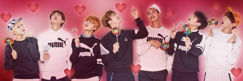 BTS Valentines Twitter Header 2