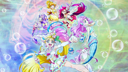 Tropical Rouge! Pretty Cure Wallpaper
