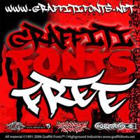 Graffiti Fonts by fontmonster