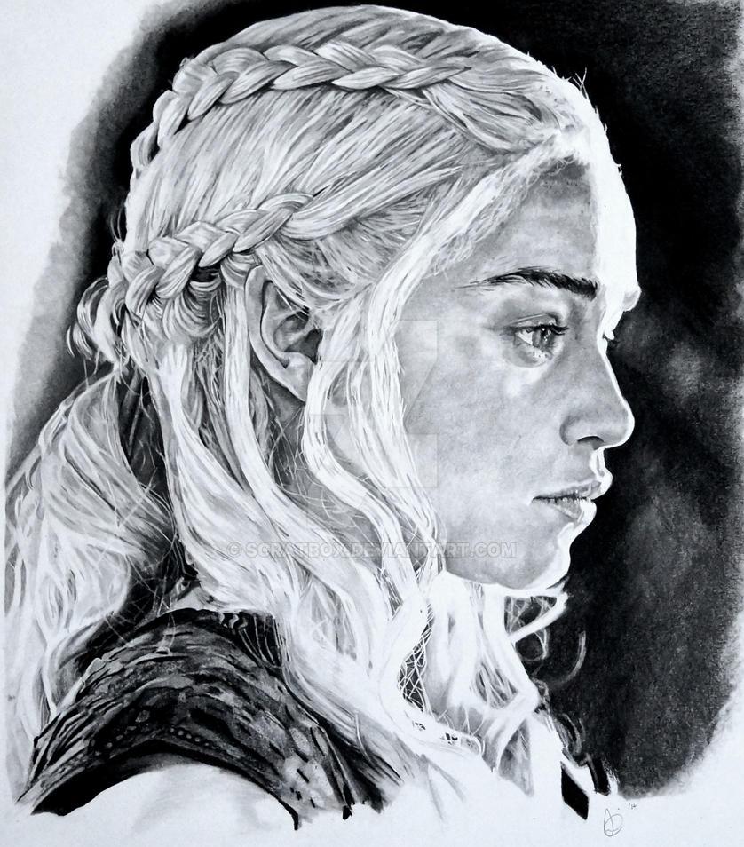 Daenerys Targaryen by scratbox