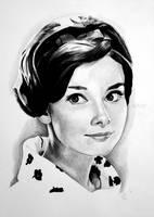 Audrey Hepburn by scratbox