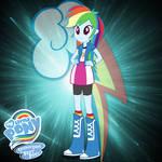 TMG M4XT3R l Rainbow Dash EQG [2240x2240]