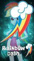 TMG M4XT3R l Cuite Mark of Rainbow Dash V1 by xXMaxterXx