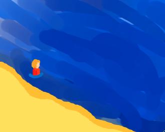 A Day at the Beach by Super-Crazy-Weirdo