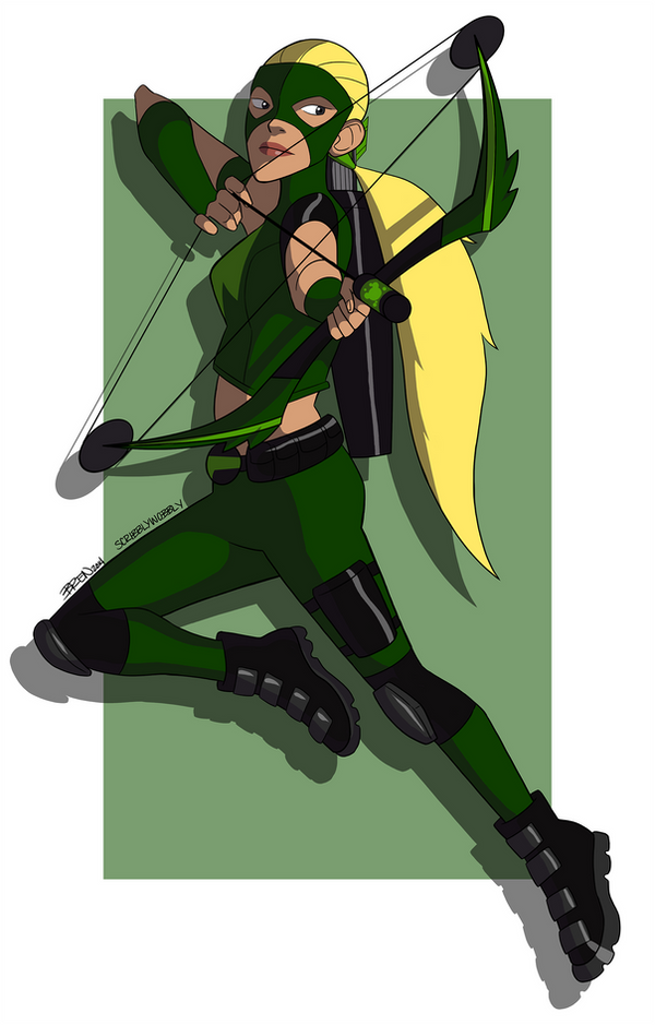 Young Justice: Artemis by scribblywobbly on DeviantArt