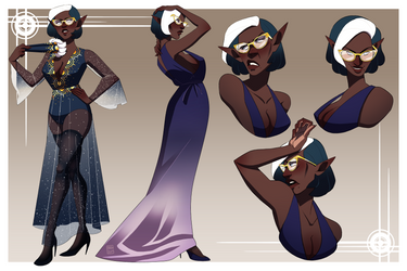 Character Sheet Commission - Janelle