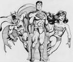 JL Sketch by BoyWonder024