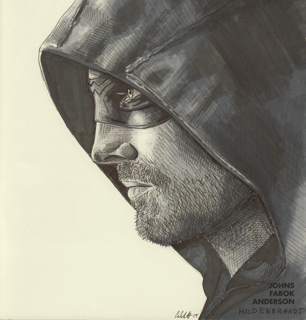 Arrow Blank Cover Sketch By BoyWonder024 On DeviantArt