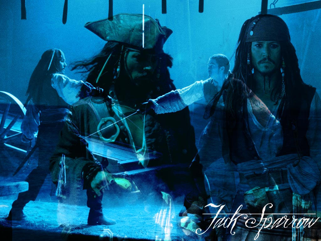 Jack Sparrow and Will Turner by krisbloom