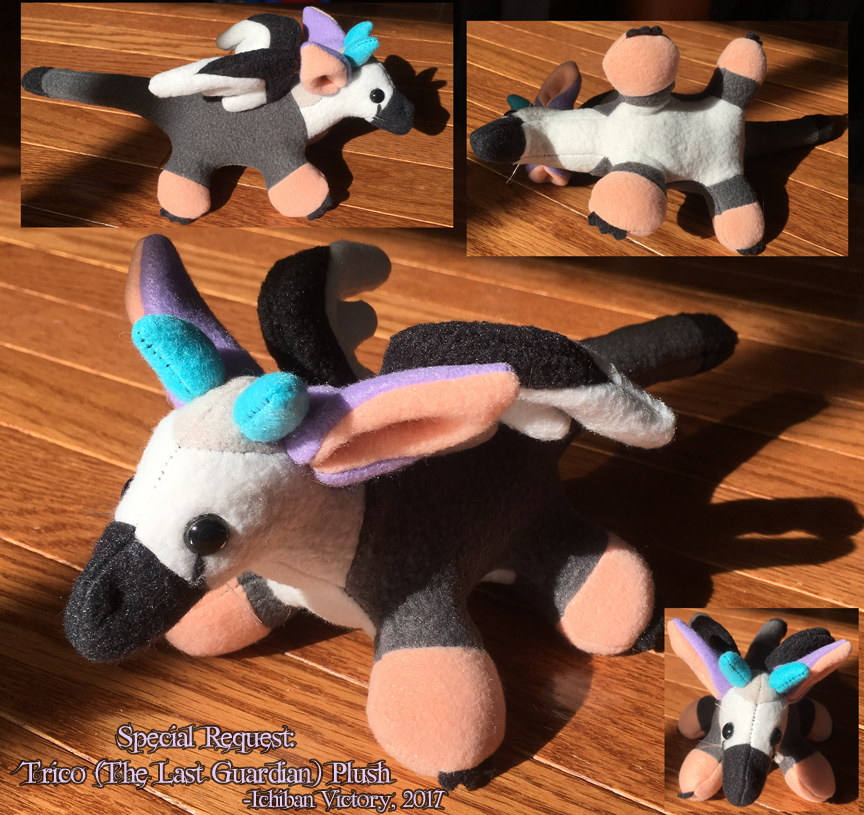 Special Request Trico Plush by IchibanVictory