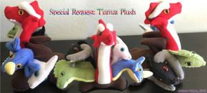 Special Request Tiamat Plush