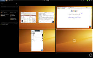Gnome Shell On Ubuntu Karmic 2 by billgoldbergmania