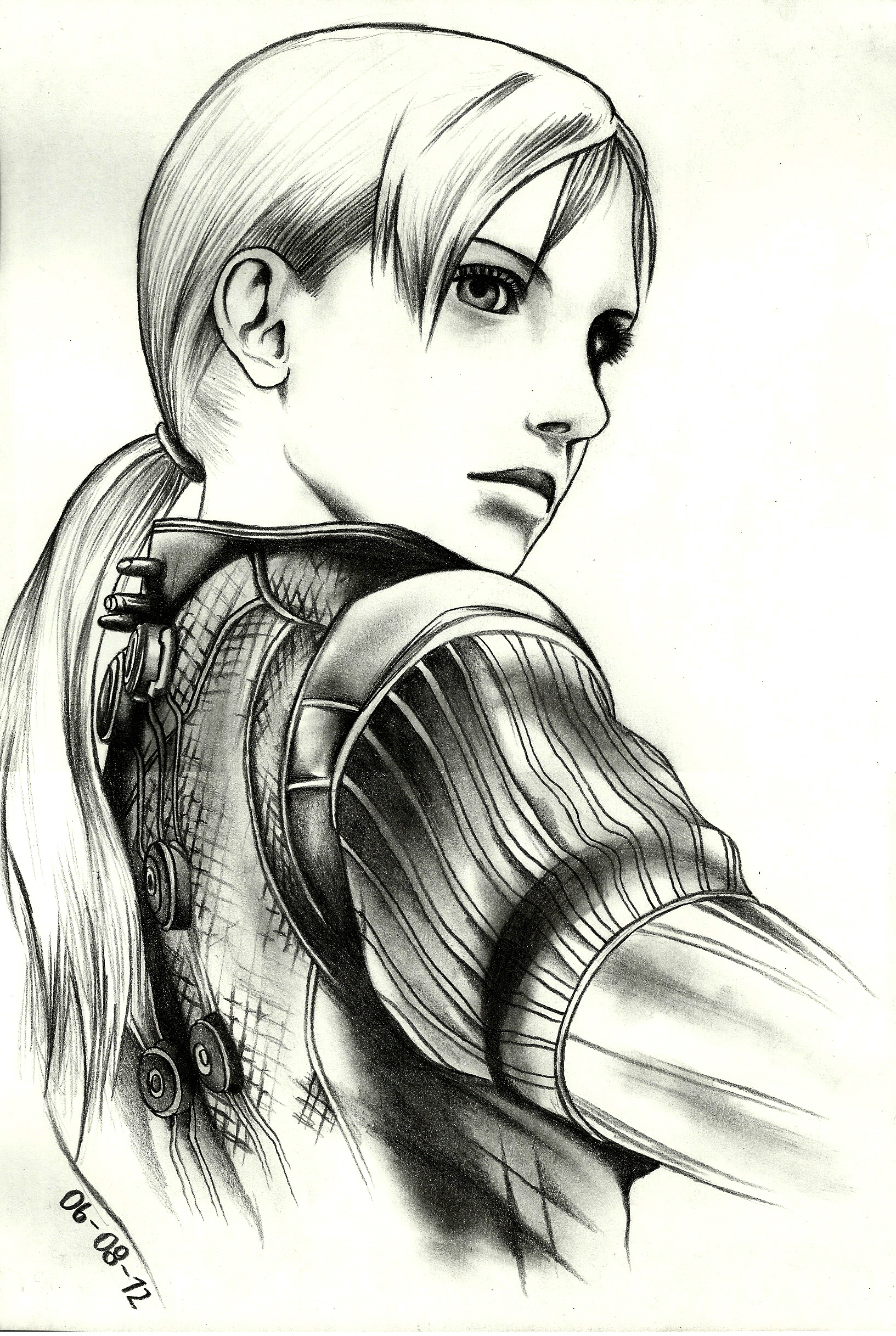 Jill Valentine RE5 by tyller16