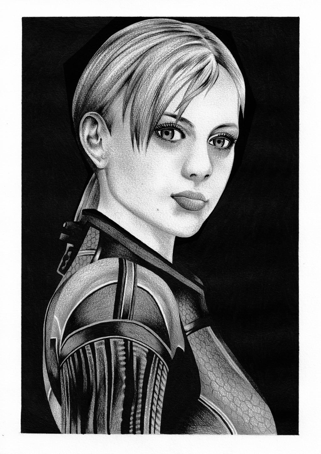 resident evil 5 jill valentine coloring pages | Jill Valentine Battle Suit by tyller16 on DeviantArt