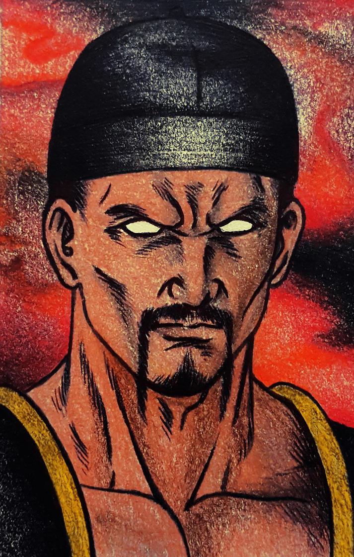 Shang Tsung Mortal Kombat 2 by tyller16