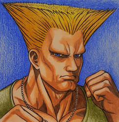 Guile Character Select Super Street Fighter II by tyller16