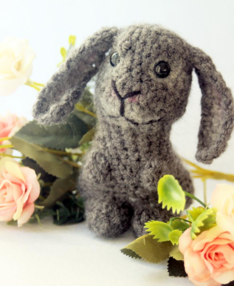 Amigurumi Cute Rabbit : Cute Amigurumi Bunny by aegeandrawn on DeviantArt