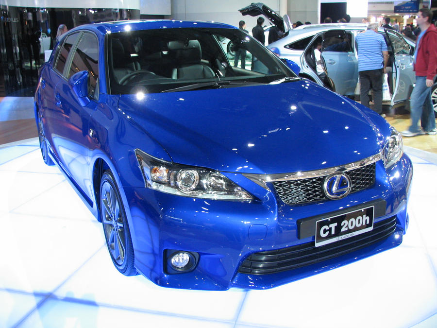 AIMS2010 - Lexus CT 200h F Sport by TricoloreOne77