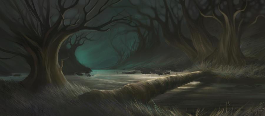 Strange Forest by beagler9