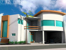 casa habitacion by alejandro-delafuente