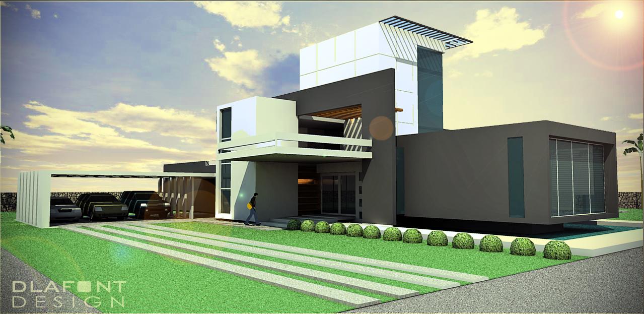 modern house by alejandrodelafuente on DeviantArt