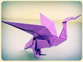 Origami Cormorant 1 by alejandro-delafuente