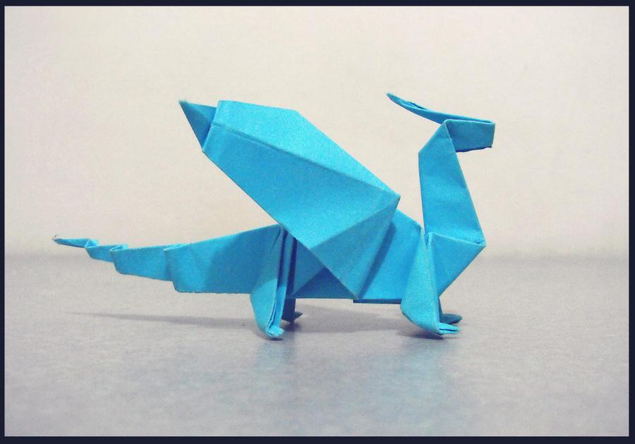 Origami Dragon by alejandro-delafuente