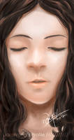 Digitally Painted Girl
