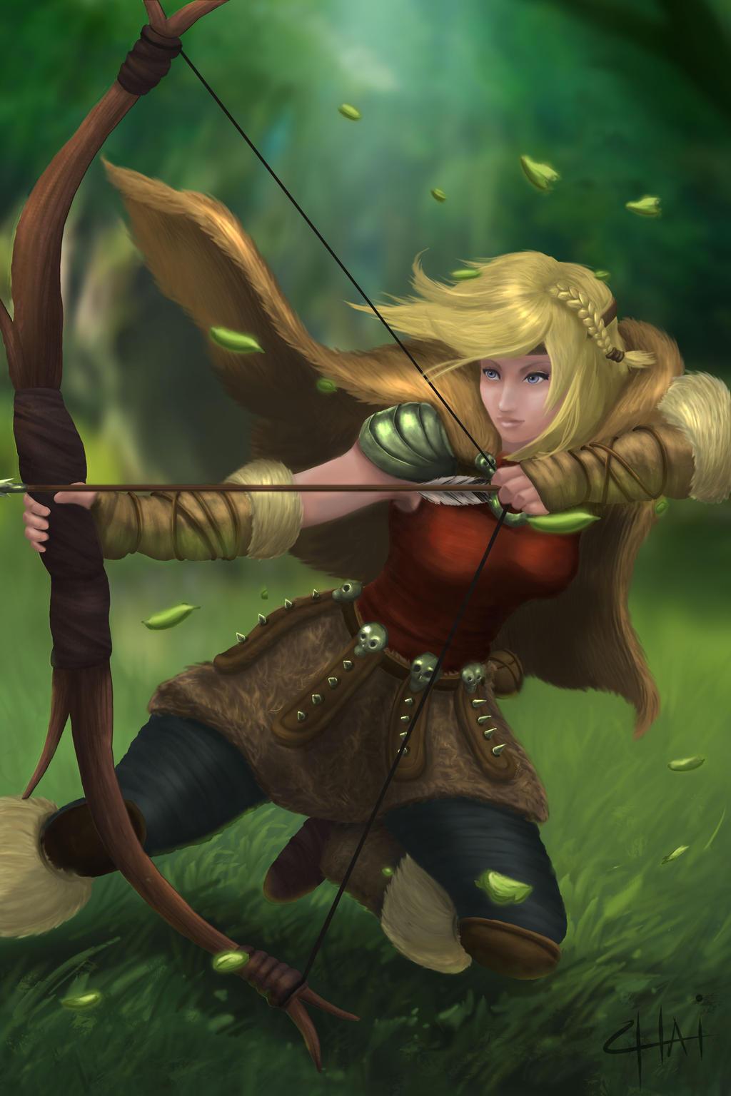 Uncategorized Astrid From How To Train Your Dragon how to train your dragon 2 astrid as an archer by zerox ii on ii