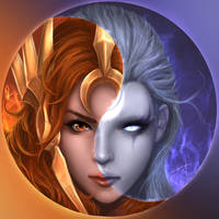 Leona And Diana from League of Legend