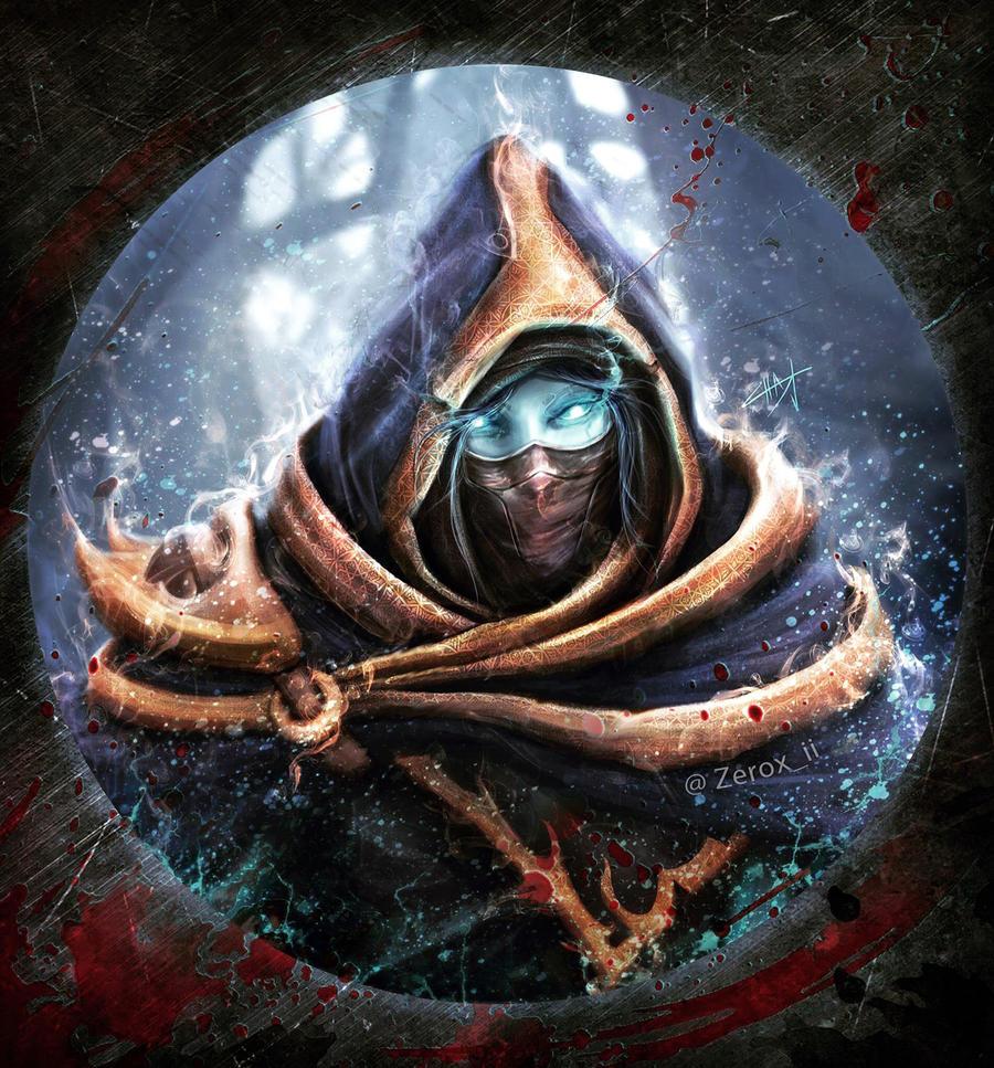 Creepy Shadow phantom assassin by Zerox-II