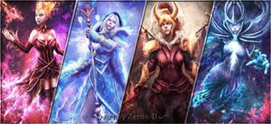 My Dota 2 Arcana Girls by Zerox-II