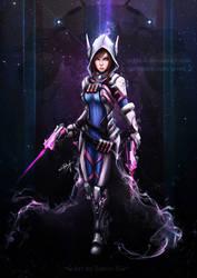 D.VA    x    Reaper by Zerox-II