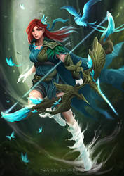 Windranger Arcana - Compass of the Rising Gale